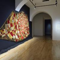 Vista de la exposiciónMovilizando afectos, Museo Amparo, Puebla, México, 2018. Cortesía de Museo Amparo