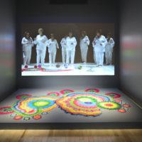 Cadu. Soy mandala, 2014-2016. Videoinstalación, 8'02''. Cortesía de Museo Amparo