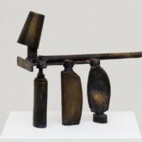 Adriano Costa, Objeto / Cachorro, 2018, bronze, 37 × 43 × 19 cm. Image courtesy of Mendes Wood DM