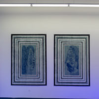 José Lerma. Exhibition view ofio e io atDiabloRosso,Panamá City, Panamá, 2018.Foto: Raphael Salazar. Cortesía deDiabloRosso