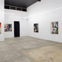Kate Steciw. Vista de la exhibicióniNCISORen Gamma Galería, Guadalajara, Jalisco, 2018. Cortesía de Gamma Galería