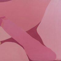 Sin Título, 1973. Acrílico sobre tela. 100 x 120 cm. Imagen cortesía de Henrique Faria Buenos Aires