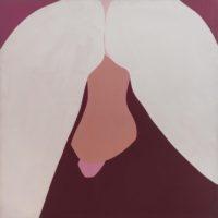Sin título, 1973. Acrílico sobre tela. 129 x 129 cm. Imagen cortesía de Henrique Faria Buenos Aires