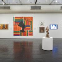 Group show. Exhibition view ofHistórias afro-atlânticas at Museu de Arte de São Paulo,São Paulo, Brazil, 2018. Credits: Eduardo Ortega. Courtesy of MASP andInstituto Tomie Ohtake