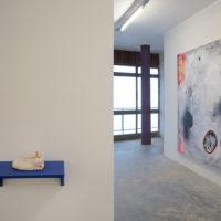 Installation view, Roly-Poly, 2018, Flora Rebollo, Thiago Barbalho and Yuli Yamagata at Pivô, São Paulo. Image courtesy of Pivô
