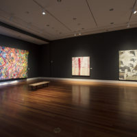 Exhibition view. The Whole Drum Will Sound: Women in Southern Abstraction, at Ogden Museum of Southern Art, 2018. Image courtesy of Ogden Museum of Southern Art.