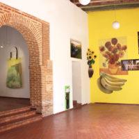 Lucia Hierro. Vista de la exposiciónAquí y allá en Casa Quién Gallery, Santo Domingo, 2018. Cortesía de Casa Quién Gallery