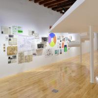 Tatiana Bilbao. Vista de la exposición Perspectivas. Tatiana Bilbao Estudio en Museo Amparo, Puebla, 2018. Cortesía de Museo Amparo