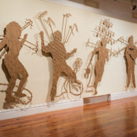 Group show. Exhibition view of Troubling Narratives: This is how we suffer to remain, at The National Art Gallery of The Bahamas, Nassau, Bahamas, 2018. Photo: Dante Carrer. Courtesy ofThe National Art Gallery of The Bahamas