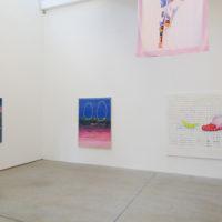 Pedro Caetano. Exhibition view of aqui now here agora nowhere at Luciana Brito Galeria, São Paulo, Brazil, 2018. Courtesy of Luciana Brito Galeria