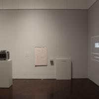View of From the Page to the Street: Latin American Conceptualism at the Blanton Museum of Art, The University of Texas at Austin, June 30 – August 26. Image courtesy of the Blanton Museum of Art.