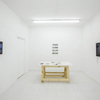 HACE SENTIDO / MAKES SENSE (installation view), 2018. Dimensions variable. Image courtesy of Embajada