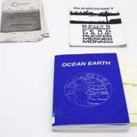 Peter Fend, Ocean Earth, Oktagon Verlagsgesellschaft mbH (January 1, 1999), 272 pgs. Image courtesy of Embajada