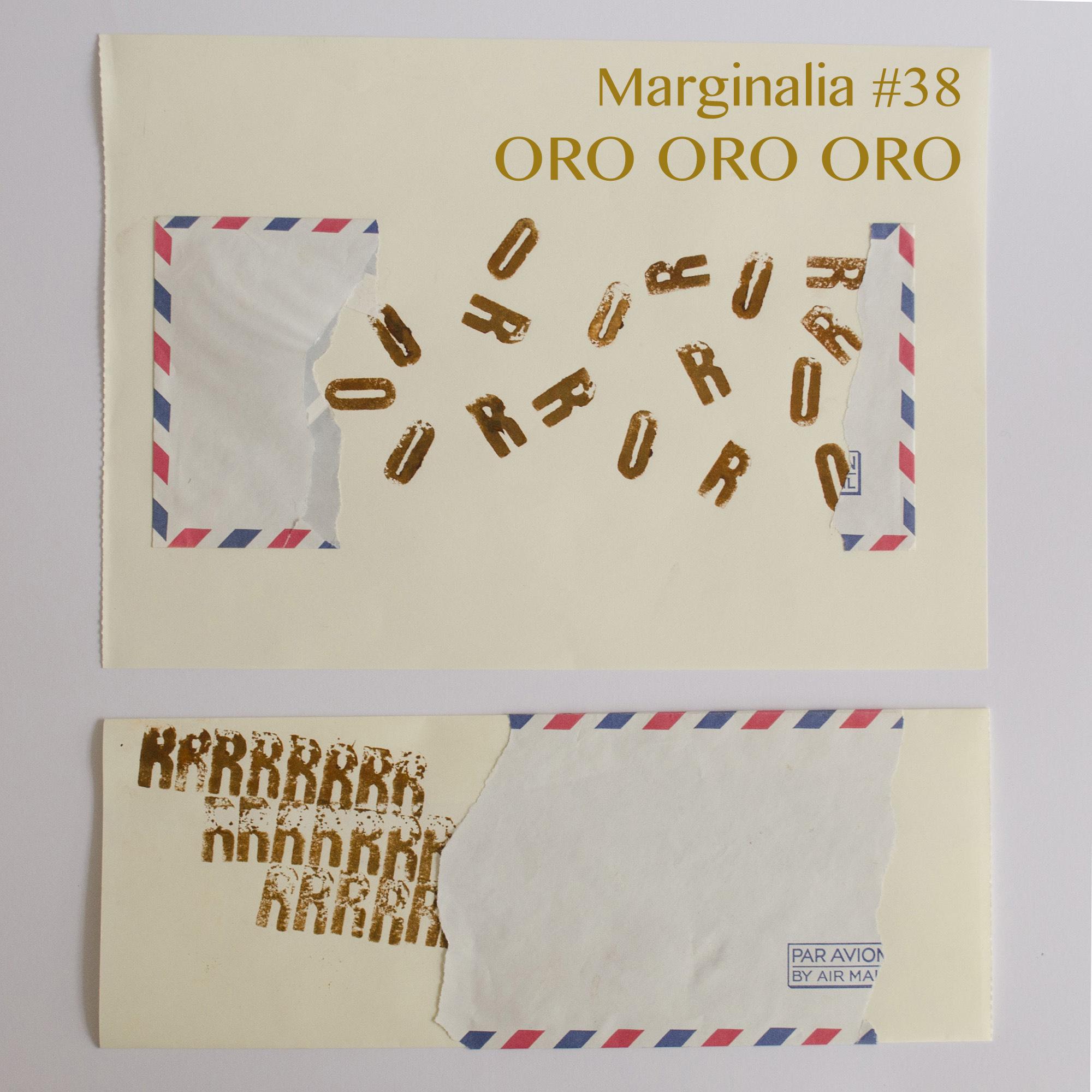MARGINALIA #38