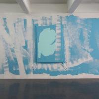 Benjamin Torres. Sin titulo (Mural mueble para sitio generico), 2018. Cortesía de Galería Karen Huber