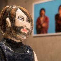 Sebastián Calfuqueo.Vista de la exposiciónKangechi enParque Cultural de Valparaíso, Chile, 2018. Cortesía deParque Cultural de Valparaíso y el artista