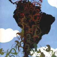 Elda Cerrato, La Hora de los Pueblos, 1975. Acrílico sobre lienzo. Colección privada, cortesía de Henrique Faria, Nueva York y Buenos Aires.
