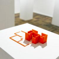 Amauta García. Miguel Hidalgo, 2016. Impresión 3D, FDM, 23 x 15 x 4 cm. Cortesía de Acapulco 62