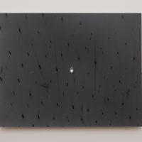 Emanuel Rossetti, heart, 2018, b/w print, mounted on aluminum, 39 cm × 49 cm. Photo credit: Jordàn Rodríguez