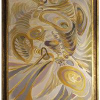 Wolfgang Paalen. Dynaton polaridades cromáticas, sf. Museo Franz Mayer. Cortesía MACG