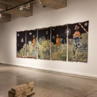 Vista de la exposición Húsares Trágicos en Museo de Arte Contemporáneo (MAC), Santiago de Chile, 2018. Cortesía de MAC
