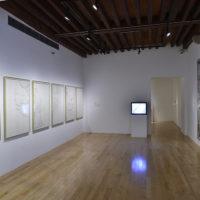 Vista de la exposición Tercerunquinto. Obra inconclusa en Museo Amparo, Puebla, 2018. Cortesía de Museo Amparo