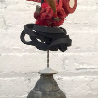 thing (oil can), 1999. Plaster, oil can, rubber bands, wires, springs, and mixed media, 10 x 5 x 3 inches. Courtesy the artist