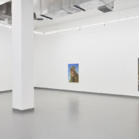 Esteban Igartua. Vista de la exposición Coliflor, Proyecto AMIL, Lima, 2018. Cortesía de Proyecto AMIL