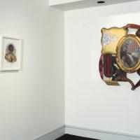 David Shrobe. Somewhere in Between. Instalation View at Jenkins Johnson Gallery. Photo Courtesy of Jenkins Johnson Gallery
