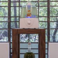 Juan Caloca. Futura evanescencia (Altepetl), 2018. Cambio de Estado, vista de exposición en Parque Galería.