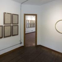 Juan Caloca. Cambio de Estado, vista de exposición en Parque Galería 2018.