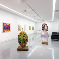 Africobra 50, Installation View at Kavi Gupta, 2018. Photo courtesy by Kavi Gupta.