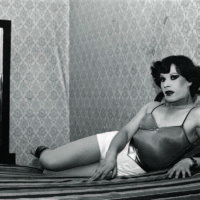 Paz Errázuriz (Chilean, b. 1944), Evelyn, 1982, from the series La manzana de Adán (Adam's apple), 1982–90. Gelatin silver print. 15 9/16 × 23 1/2 in. (39.5 × 59.7 cm). Courtesy of the artist and Galería AFA, Santiago. ©the artist.