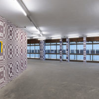 Rodrigo Hernández. The real world does not take flight. Installation at Pivô, São Paulo 2018. Image courtesy of the artist and Pivô