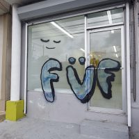 FUF (Fuck U Forever), 2018, installation view. Image courtesy of Embajada