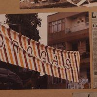 Performando el espacio público. Colectivo A la Plaza. Vista de instalación en Terremoto La Postal, Ciudad de México, 2018. Fotografía por Lorena Tabares