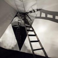Víctor del Moral, paLíndro. Vista de instalación, Centro Cultural Metropolitano, Quito, 2018. Fotografía por Francois (Coco) Laso. Imagen cortesía de Cisneros Fontanals Art Foundation.