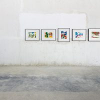 Regina Vater, Series Tropicália, 1968, installation view. Image courtesy of Galeria Jaqueline Martins/photos: Gui Gomes