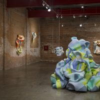 Installation view, Marela Zacarias,The Return of Coatlicue at Wasserman Projects, Detroit, 2018.Photography by P.D. Rearick