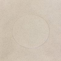 Nicolás Paris, ejercicios por demostración [una sustancia intermedia] la geometría del polvo, vista de instalación en Ladera Oeste, 2018. Imagen cortesía de Ladera Oeste