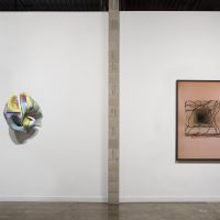 Installation view, Marela Zacarias,The Return of Coatlicue & Sarah Meyohas, Speculations at Wasserman Projects, Detroit, 2018.Photography by P.D. Rearick
