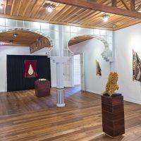 María José Argenzio, Frágil genealogía. Vista de instalación, Museo de los Metales, Cuenca, 2018. Imagen cortesía de la artista