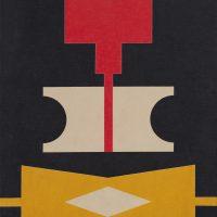 Rubem Valentim, Emblema 85 (1985). Image courtesy: Berenice Arvani Gallery