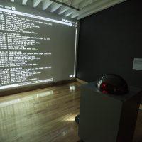 CRYPTO. Imaginarios y máquinas para la autodeterminación (2018). Vista de instalación. Imagen cortesía de CCEMX