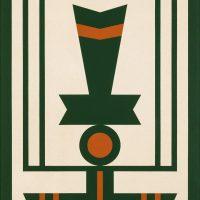 Rubem Valentim. Emblema 5 (1979). Collection of Pinacoteca do Estado de São Paulo. Credits: Isabella Matheus
