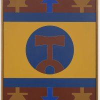 Rubem Valentim, Emblema (1978). Image courtesy: Berenice Arvani Gallery