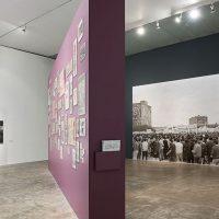 Vista de la exposición Gráfica del 68 en Museo Universitario Contemporáneo Arte Contemporáneo, 2018. Cortesía MUAC