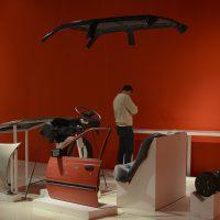 Vista de la exposición Operación peine tijera en el Museo Universitario del Chopo, 2018. Cortesía Cultura UNAM