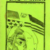 Cover of Regeneración (Los Angeles), vol. 1, no. 4, 1970. Design featuring artwork by Leo Ortiz. The University of Arizona Libraries Digital Collections
