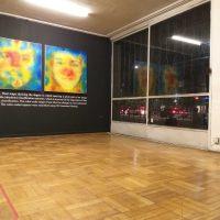 Felipe Rivas San Martín, Sexo, imagen y algoritmos (2018). Vista de instalación. Foto cortesía del artista